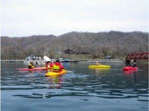 Down the river in [Hokkaido Furano] kayak (charter tour)