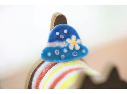 【福岡・天神駅歩10分】おしゃれセンスを磨くペンダントトップ作り☆銀板+ガラスコース