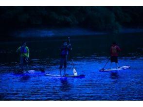 【AJ限定・三重・奥伊勢・SUP】湖面を美しく照らすNIGHT SUP ®を楽しもう♪の画像