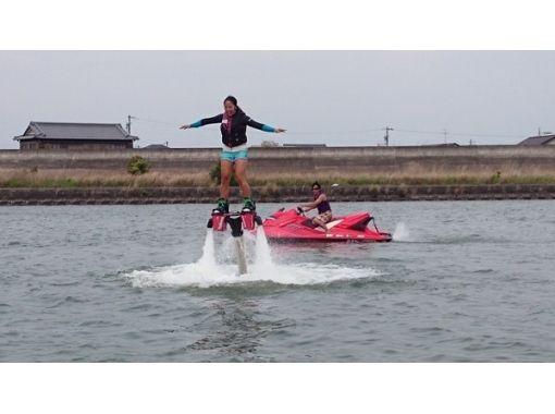 【三重・桑名・フライボード・ホバーボード】長良川を満喫!遊べるセットプラン♪