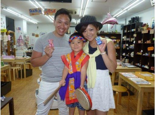 【沖縄・那覇市】手作り体験!「たのシーサー絵付け」(Sサイズ)手ぶらでOK!