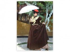 【京都・伏見】着物・衣装レンタル~自由散策OK!写真撮影もできる「鹿鳴館スタイルプラン」