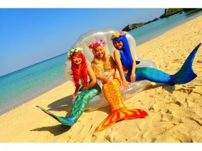 【Okinawa · Onna Village】 ♪ in Ariel on a private beach Unlimited number of shots! Premium Mermaid Plan ☆