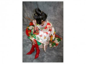 【京都・伏見】着物・衣装レンタル~自由散策OK!写真撮影もできる「江戸遊心女プラン」手ぶらでお越しください!