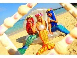 【Okinawa · Onna Village】 Unlimited number of shots! Premium Mermaid & Blue Cave Snorkeling
