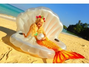 【Okinawa · Onna Village】 Unlimited number of shots! Premium Mermaid & Blue Cave Experience Diving