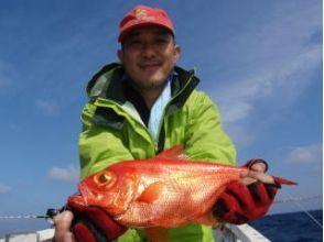 【大分 海釣り】 貸切船でたっぷり8時間 金目題釣りコース! 4月~10月(最大6名まで)の画像