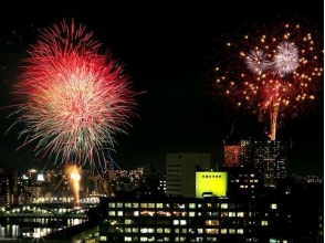 【2017 Sumidagawa fireworks display】 Both of Japan View Hotel Top floor Special Auditorium ~ Dinner Buffet included ~ P010413