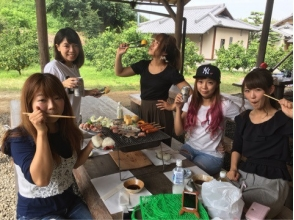 【Osaka · Kaizuka】 All you can eat tangerine hunt & All-you-can-eat charcoal grilled BBQ set plan ♪ picture