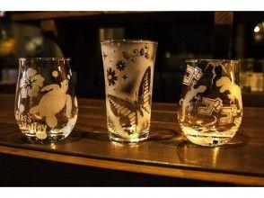 【愛知・南知多】ガラス彫刻「サンドブラスト」体験プランの画像