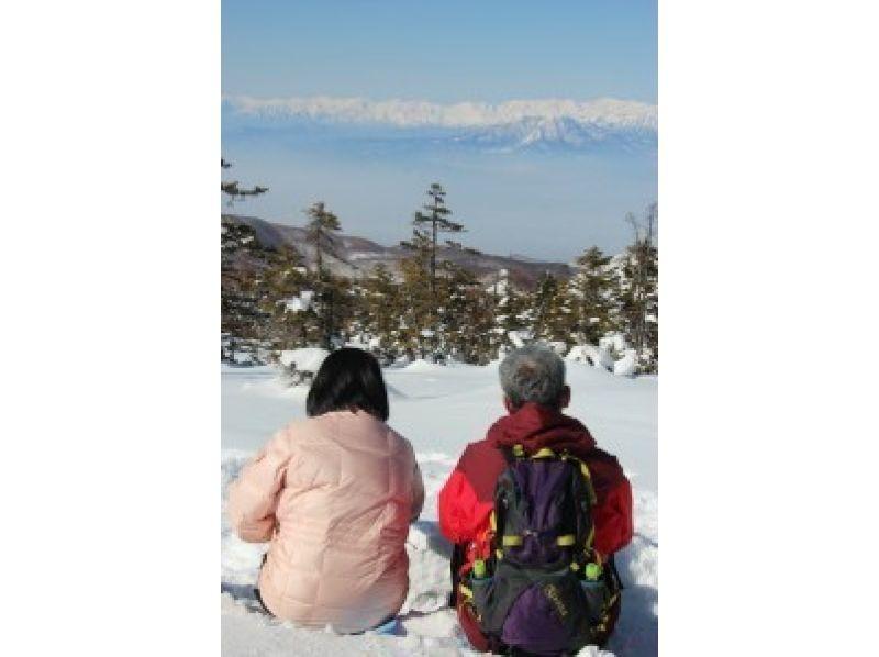 [長野志賀高原]介紹了圖像什麼的峰會和雪☆雪兔經驗的森林(2小時計)