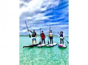 "【Okinawa · Uruma City】 Let's adventure on Kuril Island Kaido! Image of the popular ""SUP (Stand Up Paddle) Experience"""