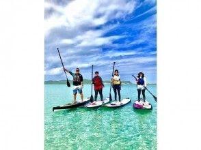 地域共通クーポン利用可!美ら島海道を冒険しよう!初心者大歓迎!初めてのSUP体験!