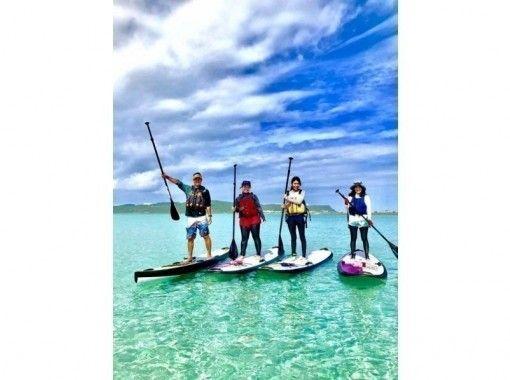 美ら島海道を冒険しよう!初心者大歓迎!初めてのSUP体験!