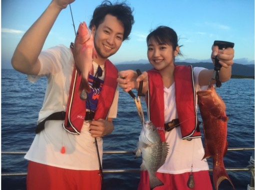 [Okinawa / Iriomote Island] (2) Regional common coupons are OK! [half-day] [Beginners are welcome] Big fishing! Iriomote Island Tropical Fishing! [free photo data]の紹介画像