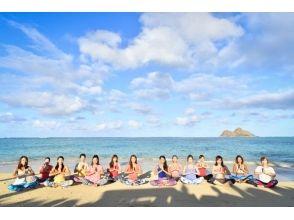 【愛知県・常滑市・ヨガ】モーニングかサンセットが選べる♪りんくうビーチでビーチヨガをしよう!の画像
