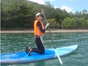 【北海道・千歳・支笏湖]#支笏湖SUP体験.レンタル用品無料、新型コロナ対策、写真データ無料ほとんどの方が1回の体験で、立って乗れます。