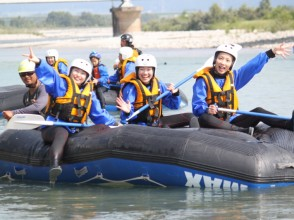 【Toyama · Kurobe River】 July / September student limited rafting tour (half day course)
