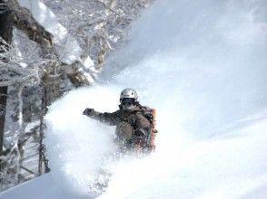[Hokkaido · Tokachi / Hidaka / Furano] origin of snow play sliding down the natural mountain! Backcountry Tours