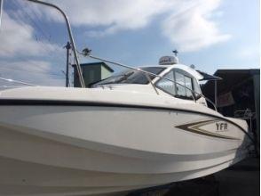 【富山県・高岡市】レンタルボート・プライムでクルージング(ガイド付き・要小型船舶免許2級~1級)