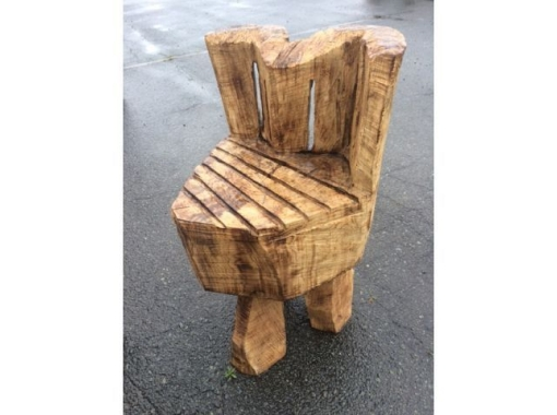 【三重・伊勢】チェンソーを使って本格的な木工作品作り体験♪