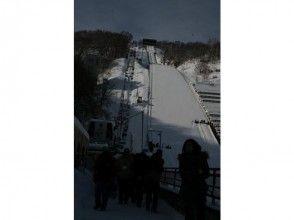 【北海道・札幌】スノーシューのんびり1日コース 盤渓市民の森とゆっくりランチプラン(ガイド同行)の画像