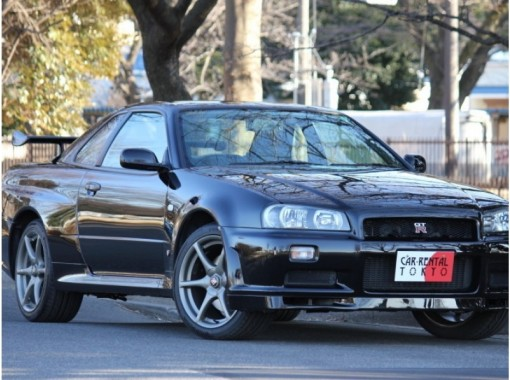"""[Chiba /Matsudo] Rental car """"Nissan GT-R R34"""" (6 hours ~) OK to drive from 21 years old!の紹介画像"""