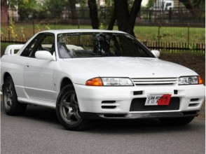 【千葉・松戸】レンタカー「日産GT-R R32」(6時間~)21才から運転OK!