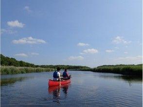 【新千歳空港まで無料送迎】【初心者歓迎】美々川カヌー体験♪たっぷり2時間コースの画像