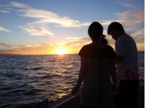 【沖縄・石垣島】美しい海に沈む夕日を眺める☆サンセットクルーズの画像