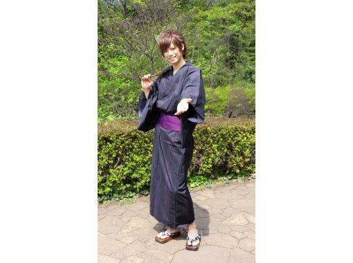 【東京・原宿】原宿を素敵な浴衣姿でお散歩!浴衣メンズプラン(原宿駅から30秒)