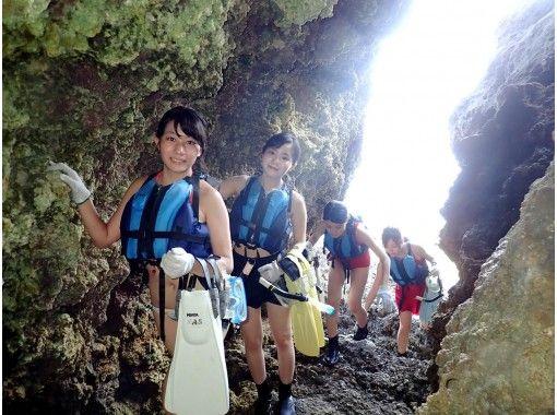 冒険ツアー!人気の青の洞窟と外洋スキンダイブOK!高画質写真付きで思い出も残せますよ