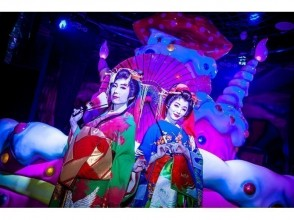 【KAWAII MONSTER CAFE原宿】可愛怪物咖啡廳--花魁之夜(週二限定)