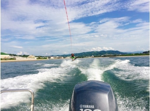 【Kagawa · Takamatsu】 Beginner's big welcome ☆ Wake board experience ★ (regular course 20 minutes)の紹介画像