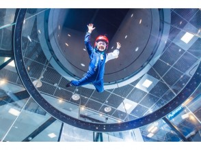 "【Good night rates】 Japan's first landing! Let 's dance in the air ""at the topic indoor skydiving! Image of weekday night rate plan"