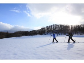 [Tohoku/ Hachimantai]Cross-country skiing(half-day tour) OK from elementary school students, enjoy nature, and have no experience in skiing!