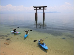 【滋賀・琵琶湖カヌー】白髭神社・湖中鳥居くぐり(120分コース)