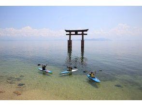 【滋賀・琵琶湖カヌー】白髭神社・湖中鳥居参拝カヌー(120分コース)