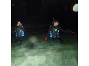 【沖縄・宮古島】夜までとことん ♪ ビーチ「ナイト」シュノーケリングの画像