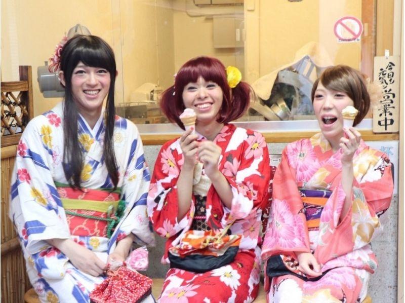 【東京・女装体験】男だって女性みたいに可愛く変身♪浴衣・メイクでキメて花火大会や夏祭りを楽しもう!