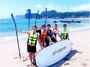 [Southern part of Katsuura City, Chiba] Beginners are welcome! Popular SUP experience on a wonderful beach unique to Katsuura ♪
