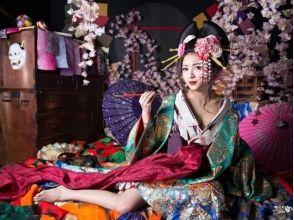 """【京都・京都市】花魁体験♪""""おとめプラン""""★女性向け★の画像"""