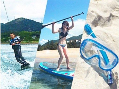 【静冈/伊豆下田】非常满意! SUP、滑水板、浮潜(180 分钟)の紹介画像