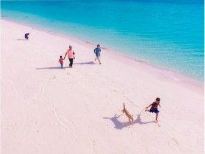 【沖縄・宮古島】鮮やかな思い出を♬透き通る海と一緒にドローン空撮(ビーチプラン)の画像
