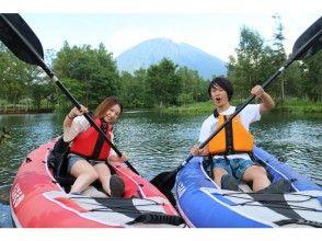 [北海道新雪谷]悠閒獨木舟(皮艇)從旅遊♪3歲OK!
