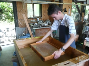 【高知県・梼原町】土佐の匠が指導!伝統手漉き和紙体験1日ワークショップ♪の画像