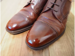 【Aichi / Nagoya】 The grooming is from the feet ♪ The image of the shoe craftsman's shoe polishing classroom