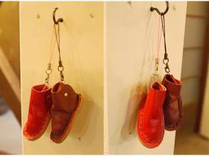 【愛知・名古屋】靴職人のレザークラフト教室☆ミニチュア靴作りの画像