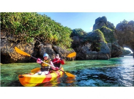 [Okinawa ・ Uruma City]Sea kayak Touring tourの紹介画像