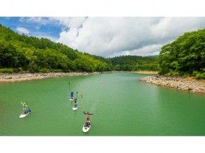 【長野・志賀高原】日本一長い!千曲川を下るリバーSUP体験 ♪ 半日コースの画像